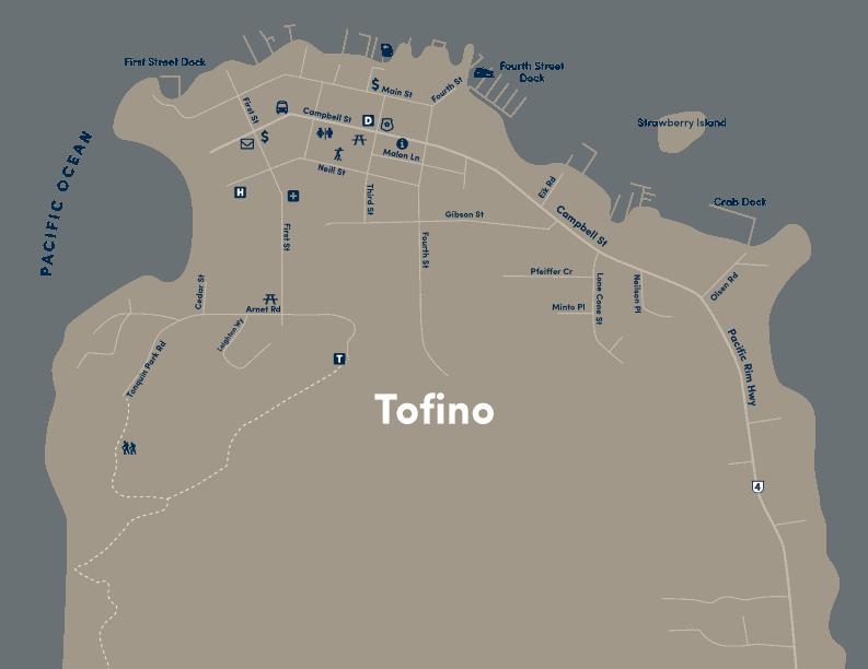 Tofino Canada Map.Tofino Accommodation Activities The Official Tourism Tofino