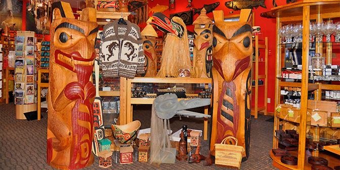 House of Himwitsa First Nations Art Gallery