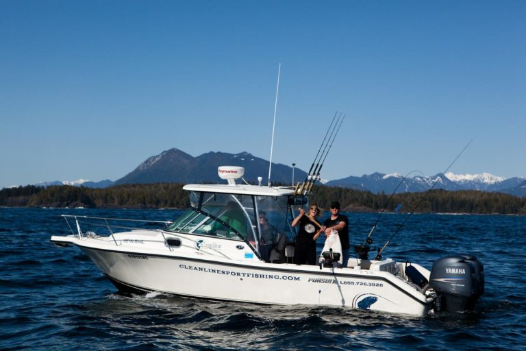 Cleanline Sport Fishing Charters Tofino