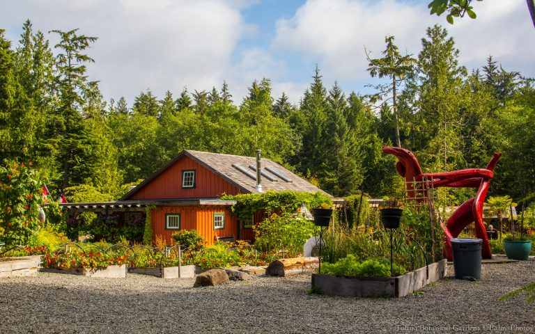 Ecolodge at Tofino Botanical Gardens