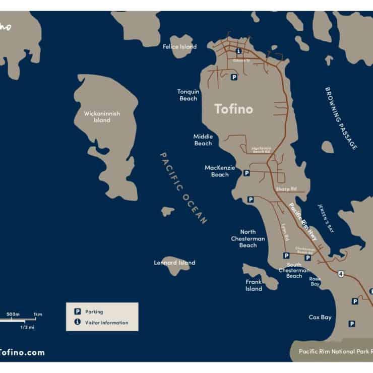 Tofino Canada Map.Maps Resources The Official Tourism Tofino