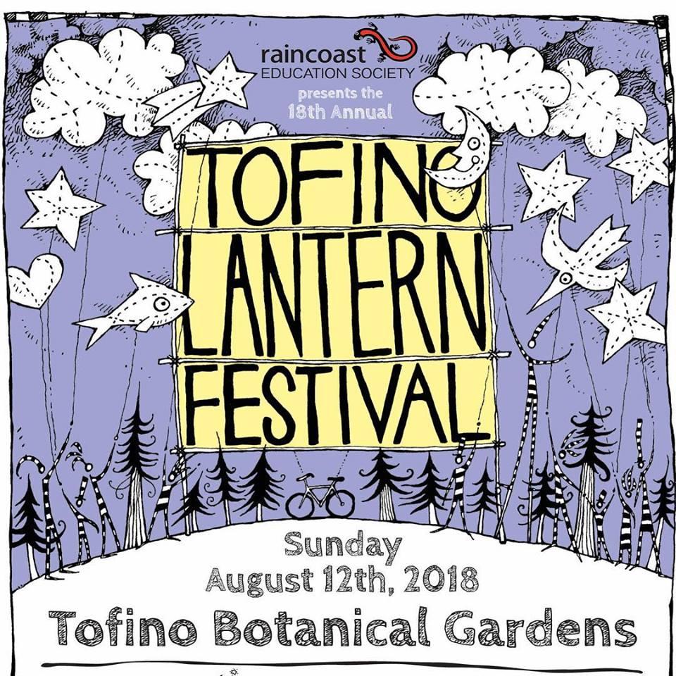 Lantern festival in Tofino