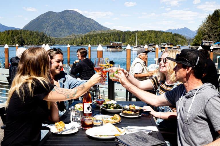 The Hatch Waterfront Pub at Tofino Resort + Marina