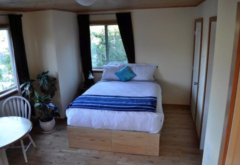 Treetop Suite at the Tofino Family Home & Hobby Farm