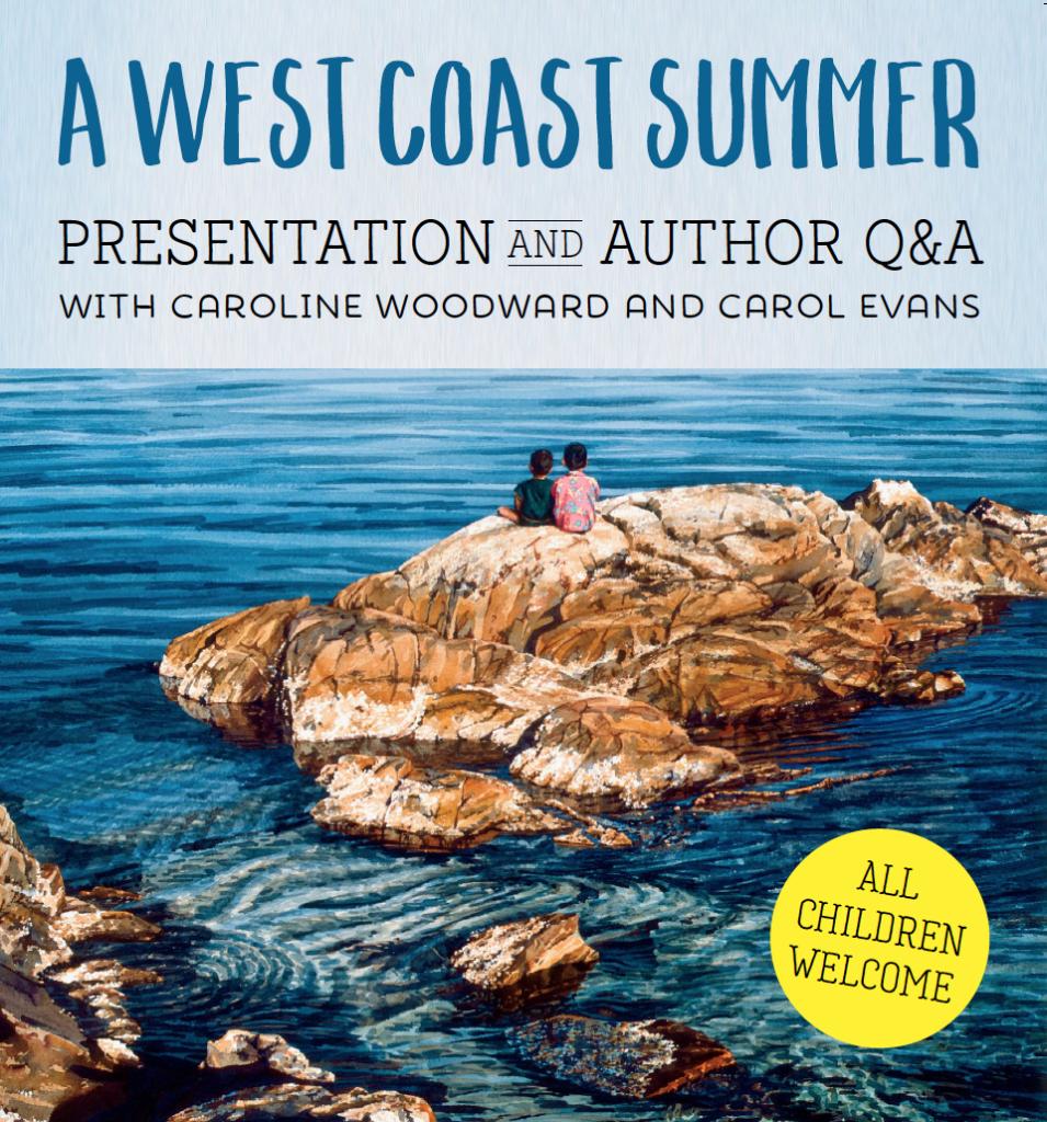 image of cover of West Coast Summer book