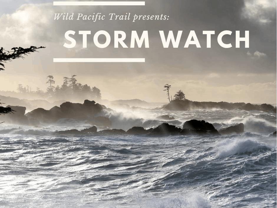 Poster for Storm Watch Wild Pacific Trail Interpretive Walk