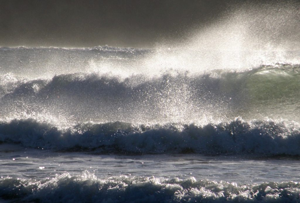 Ocean storm, Tofino