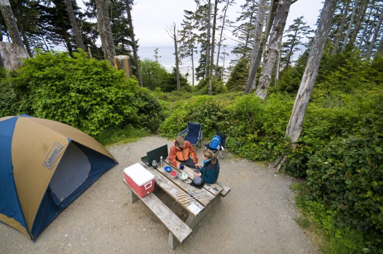 Green Point Campground in Pacific Rim National Park Reserve