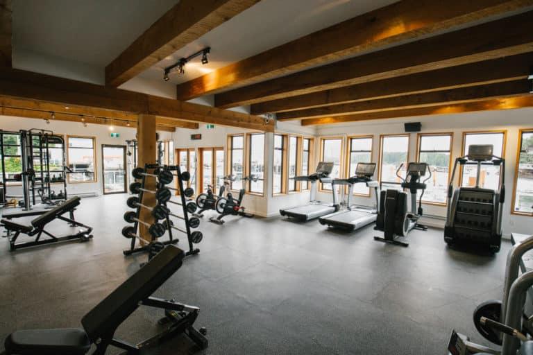 Tuff Fit Gym at Tofino Resort + Marina
