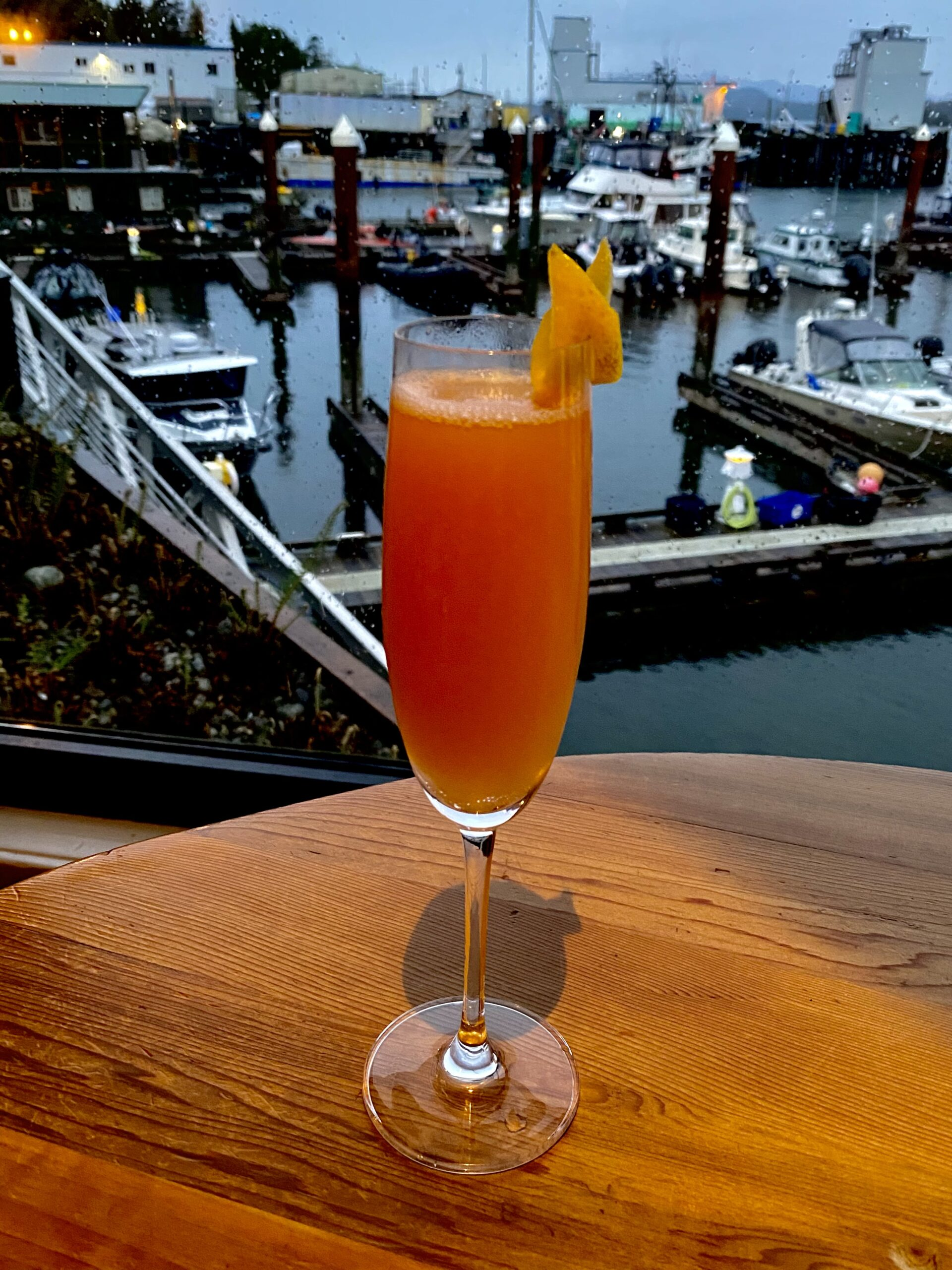 Tofino Resort + Marina Cocktail Rose Bud