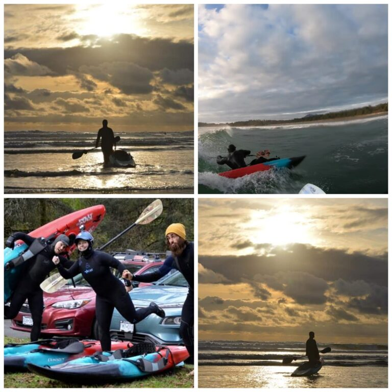 Van Isle surf-Kayaking